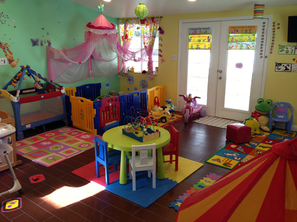 day care main room in woodland hills